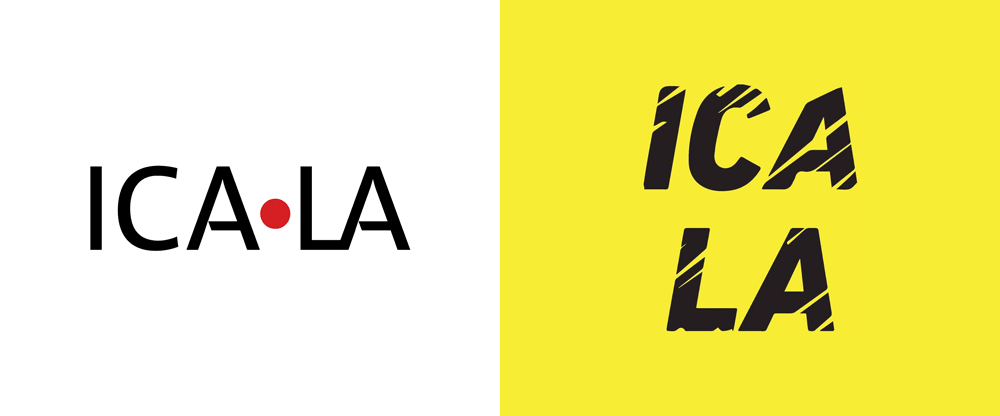 New Logo for ICA LA by Mark Bradford