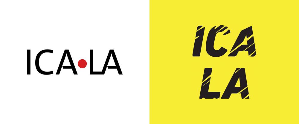 New Logo for ICA LA by Mark Bradford