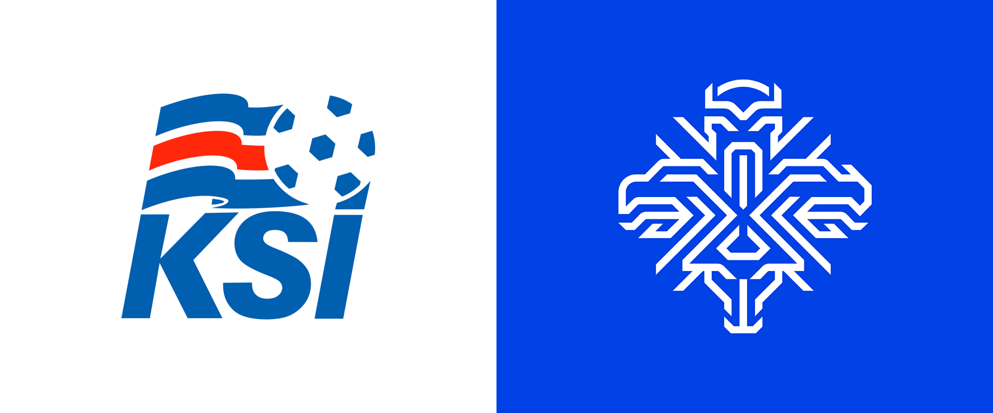 New Logo and Identity for Iceland National Football Team by Brandenburg