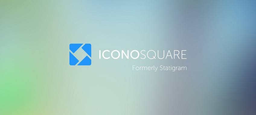 New Name and Logo for Iconosquare