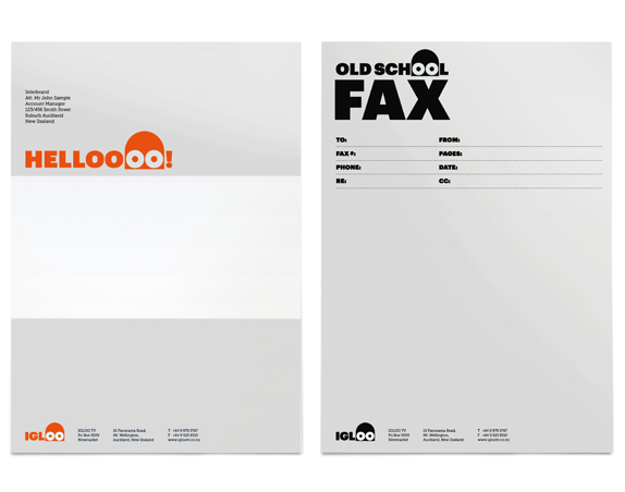 IGLOO Logo and Identity