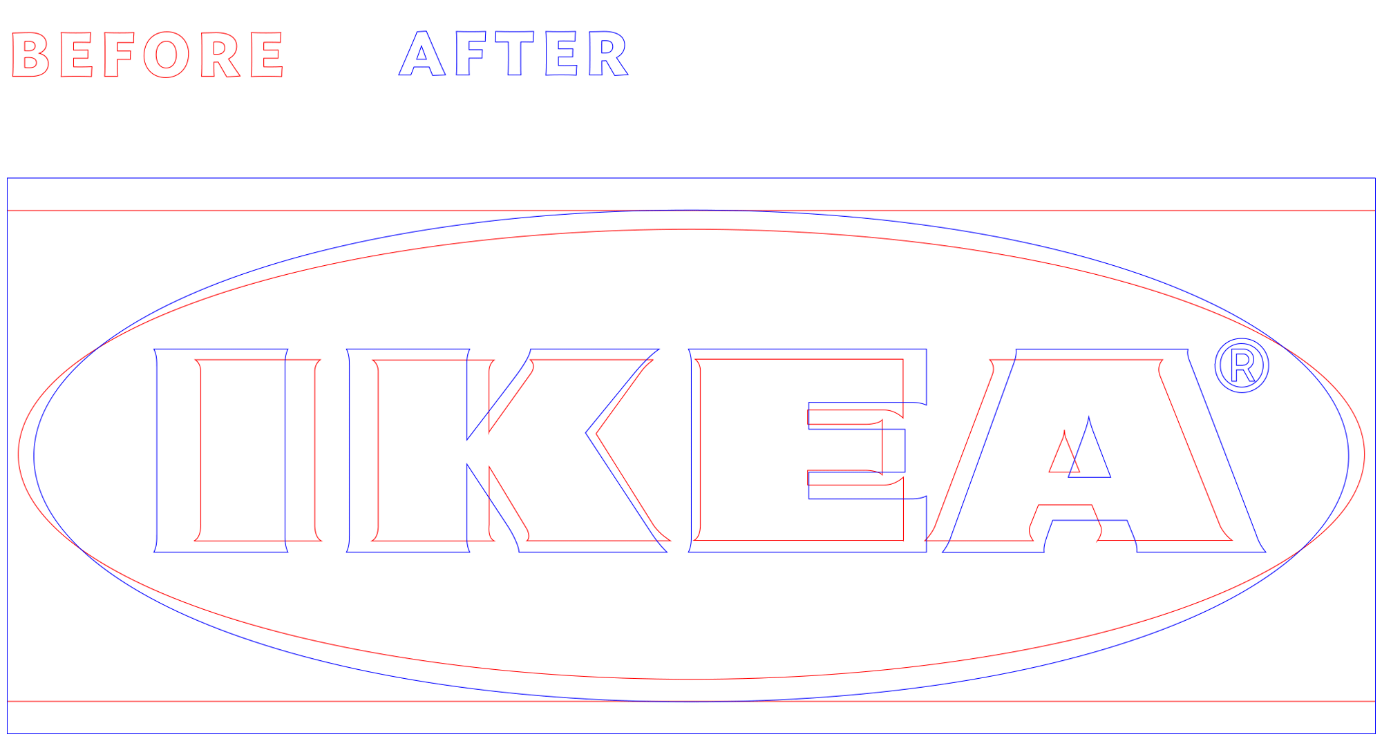 New Logo for IKEA by Seventy Agency and 72andSunny Amsterdam