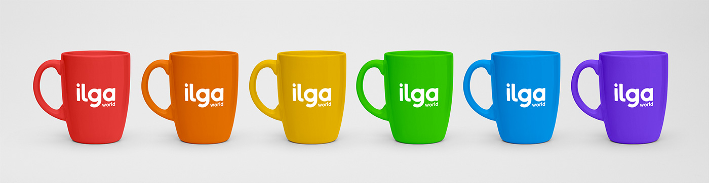 New Logo and Identity for ILGA by Joana Vieira