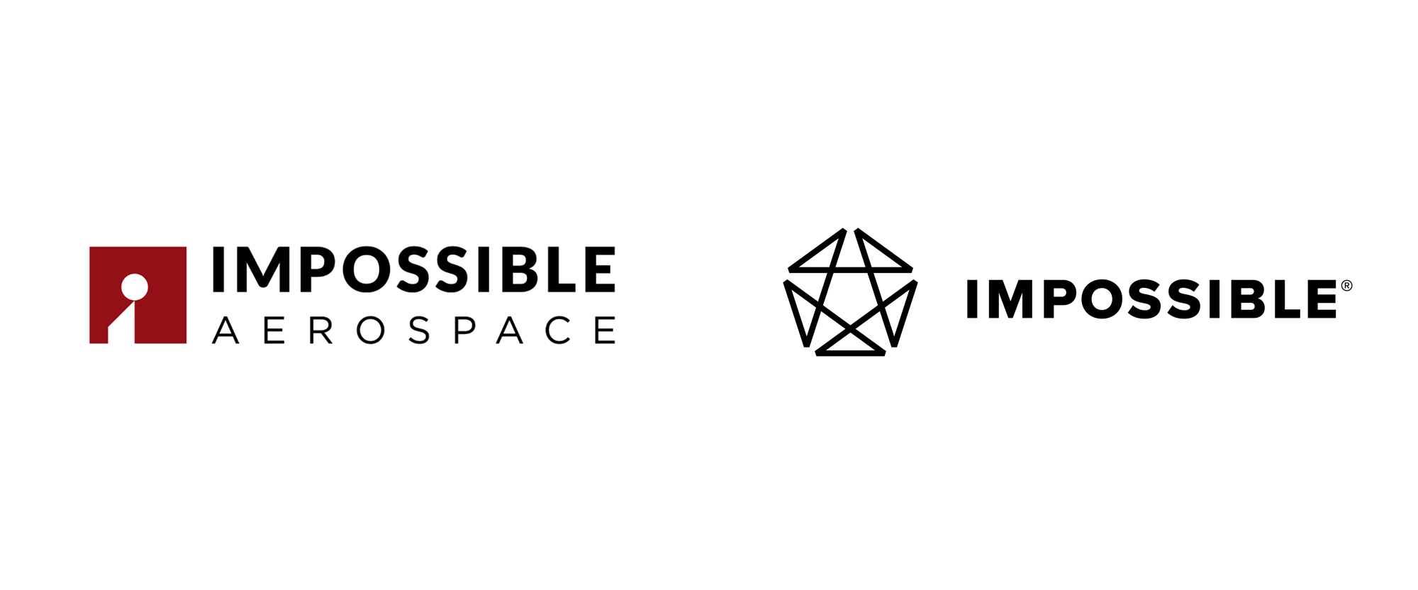 New Logo and Identity for Impossible Aerospace by Chermayeff & Geismar & Haviv