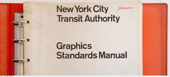 In Brief: New York City Transit Authority Graphics Standards Manual