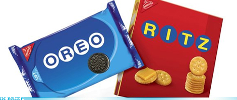 Oreo and Ritz Summer Packaging