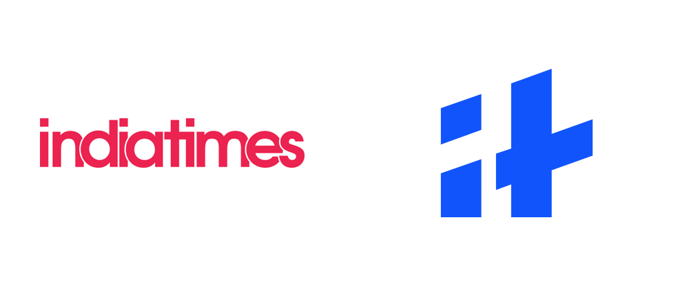 New Logo and Identity for Indiatimes by Animal