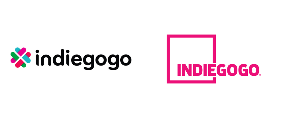 New Logo for Indiegogo by PUSH Offices
