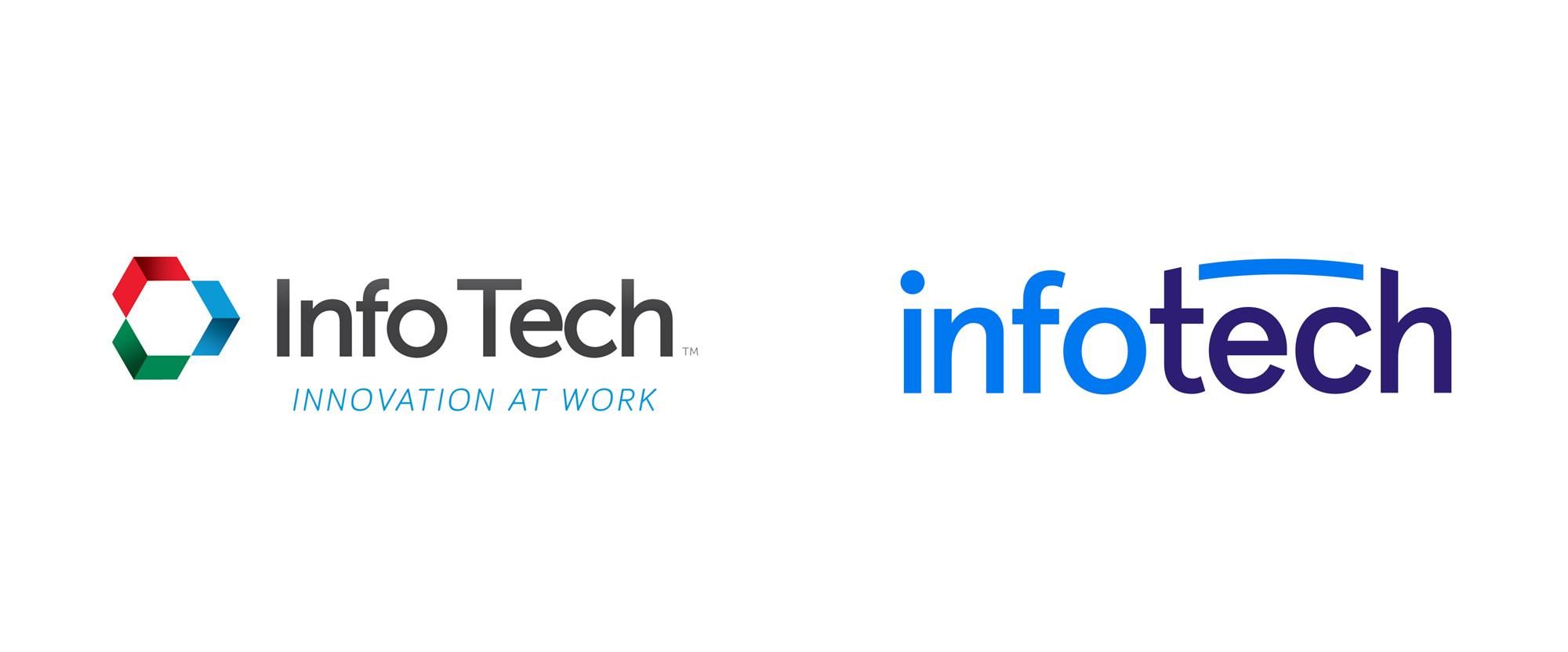 New Logo for Infotech by Bukwild