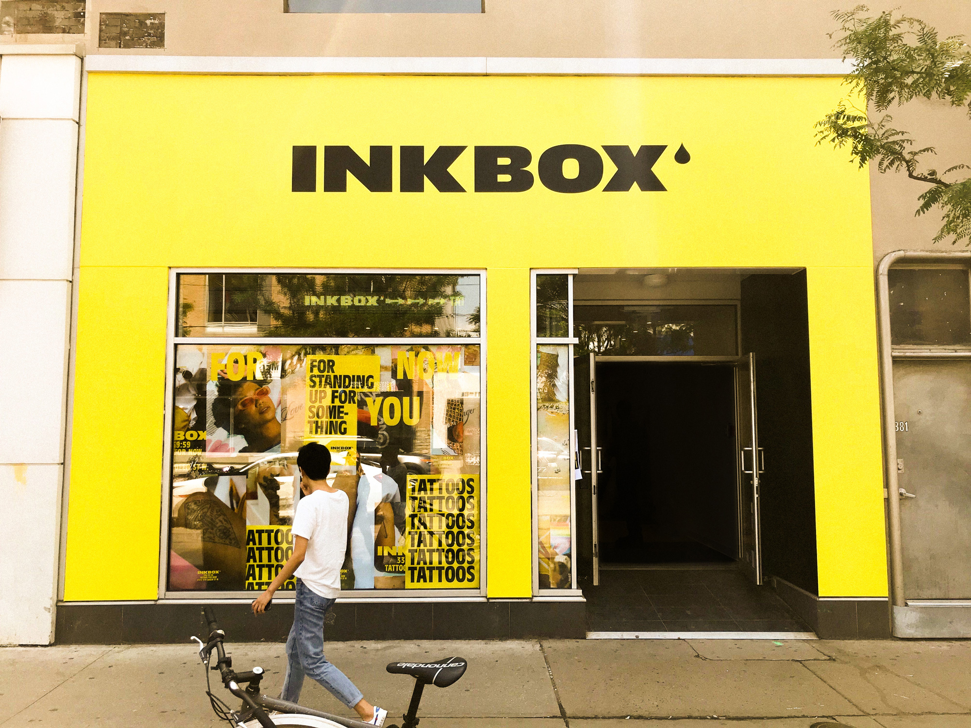 New Logo and Identity for Inkbox done In-house