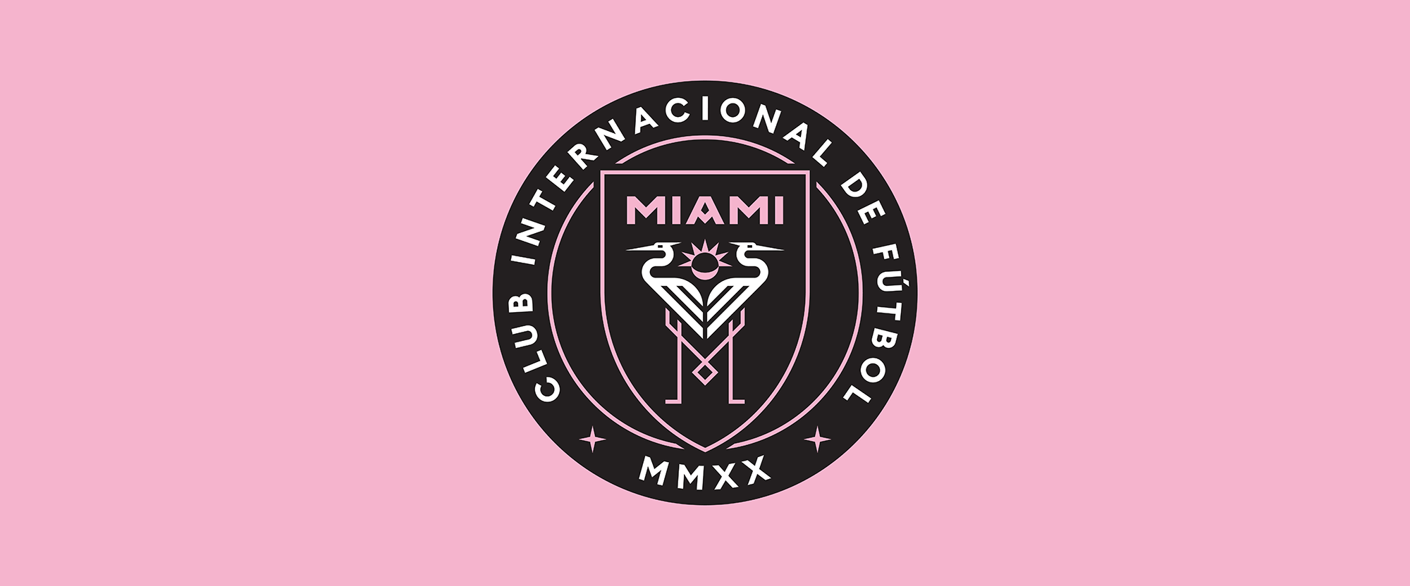 New Logo for Club Internacional de Fútbol Miami by Doubleday & Cartwright