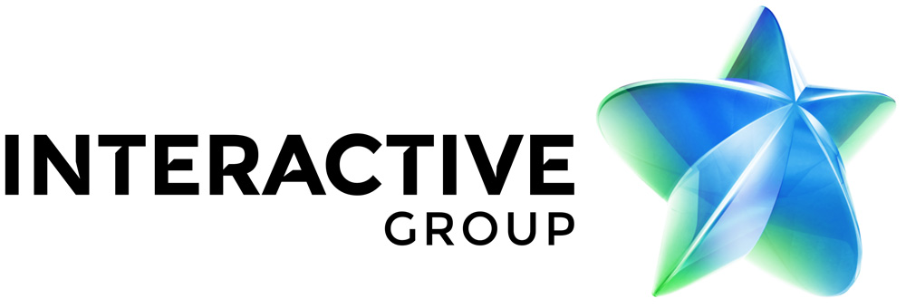 New Logo and Identity for Interactive Group by Brandient