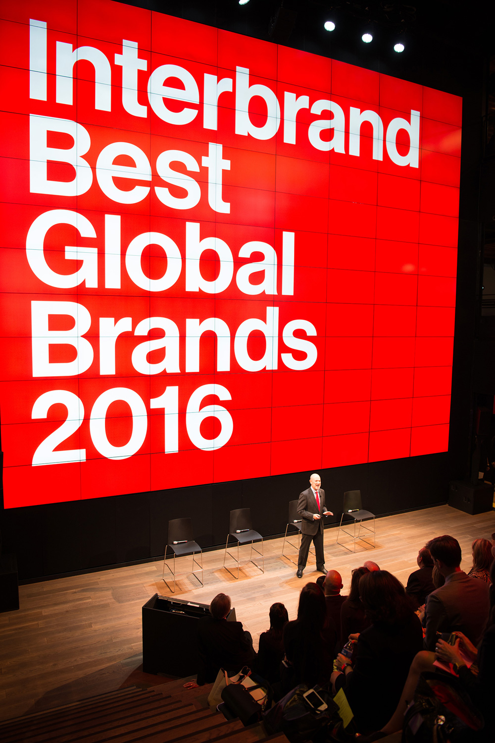 New Logo and Identity for Interbrand done In-house