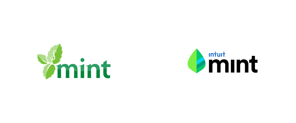 Brand New New Logo For Mint By Landor