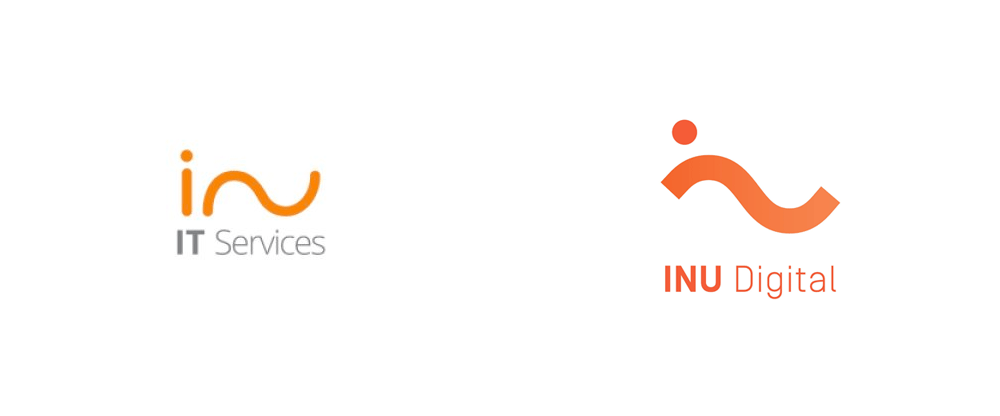 New Logo and Identity for INU Digital by Zwoelf