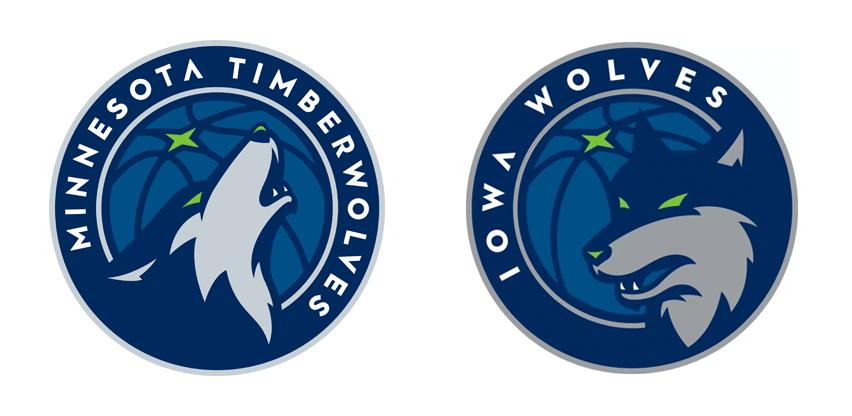 Iowa Wolves Logo