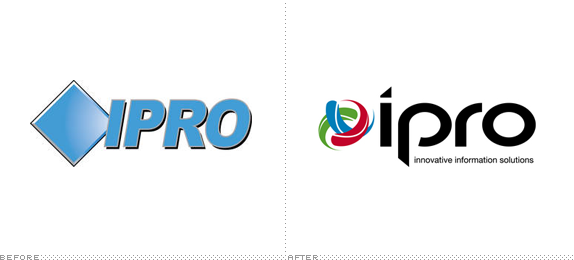 Ipro Logo, Before and After