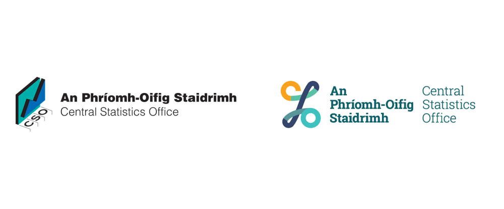 New Logo for Ireland's Central Statistics Office