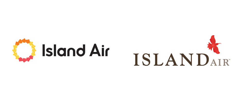 New Logo for Island Air by Wall-to-Wall Studios