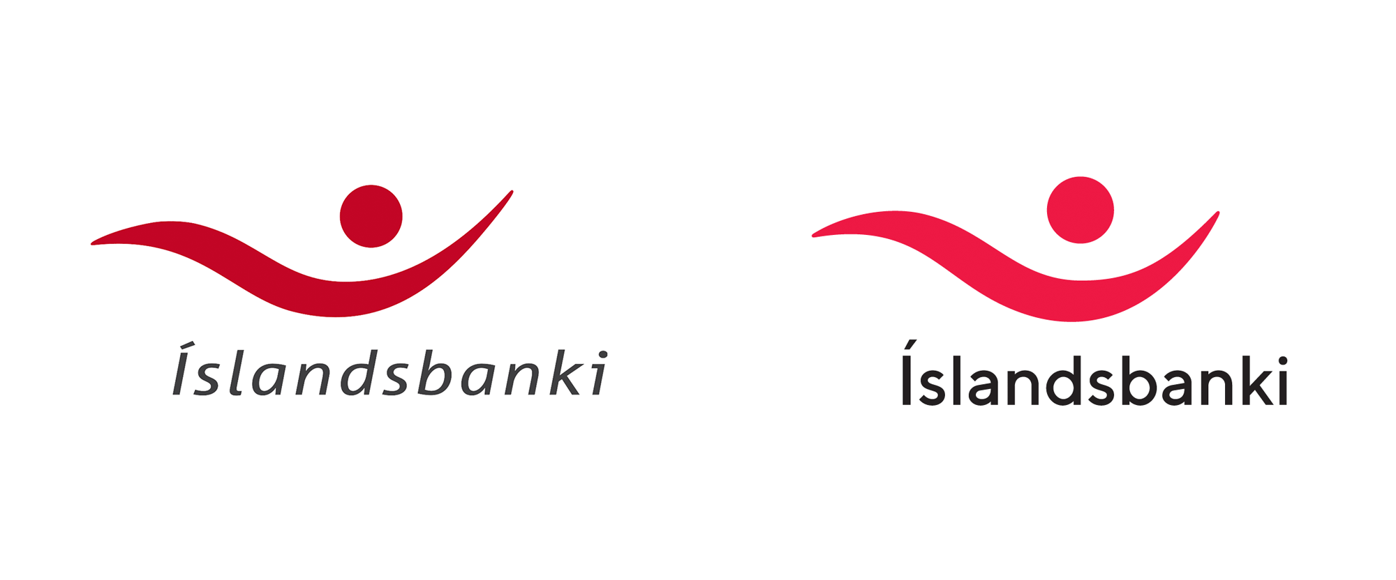 New Logo and Identity for Íslandsbanki by Brandenburg