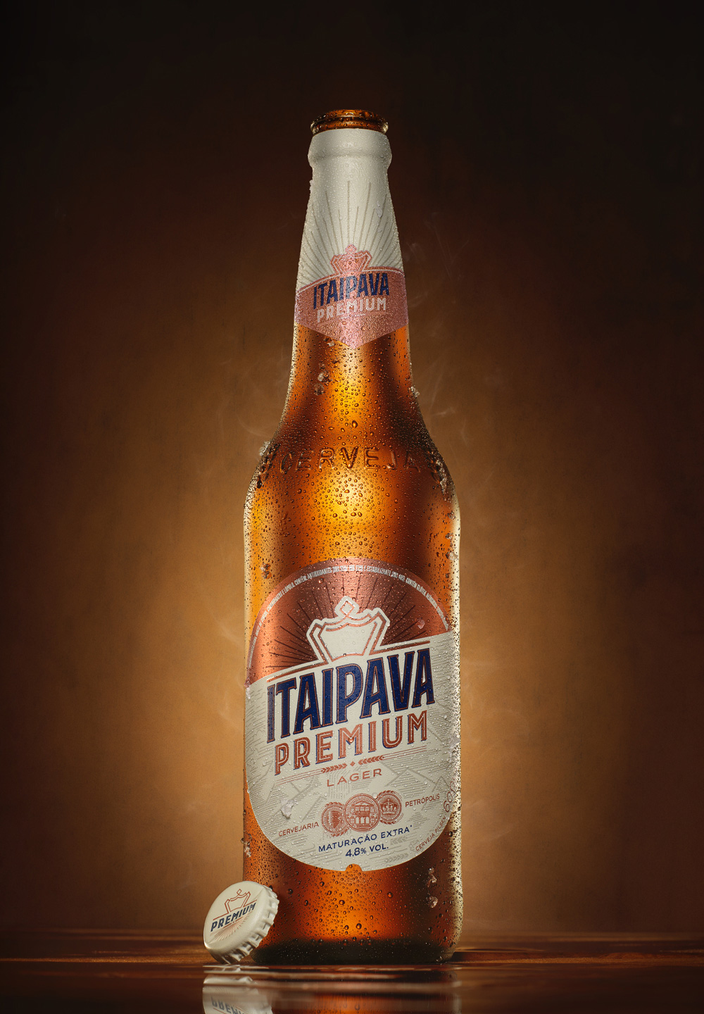 brand new new logo and packaging for itaipava premium by