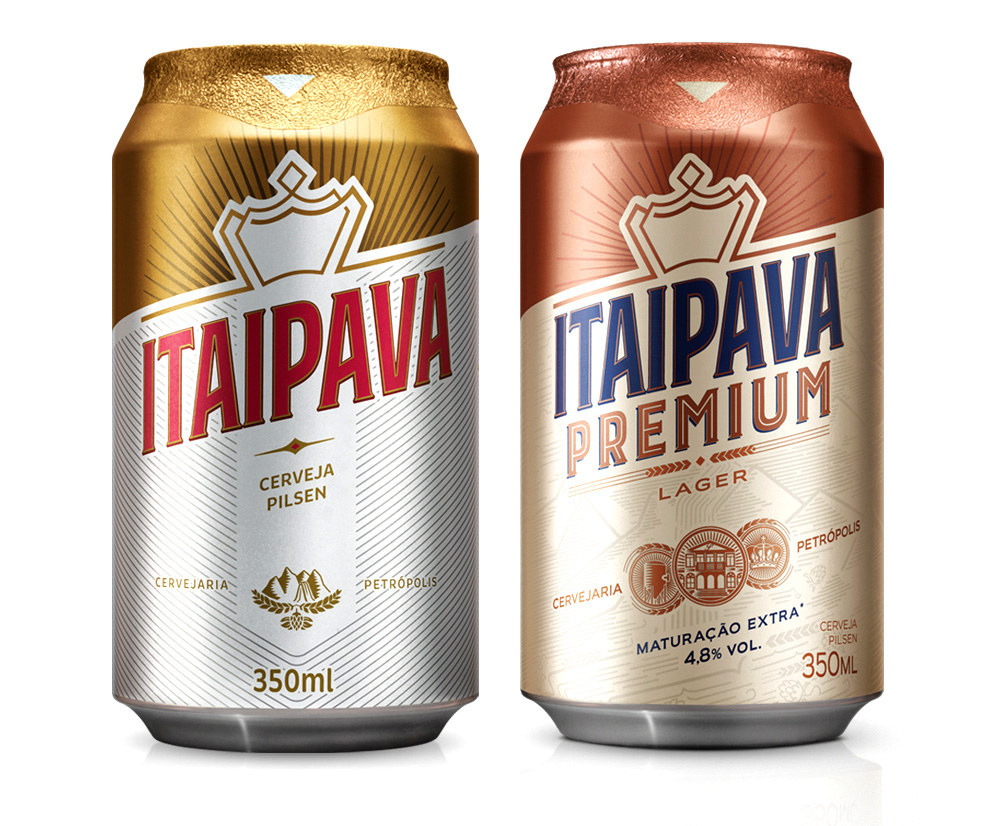 New Logo and Packaging for Itaipava Premium by Futurebrand