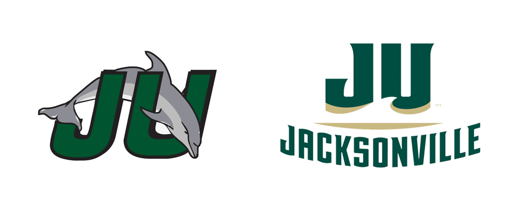 New Logos for Jacksonville University Dolphins by Bosack & Co.