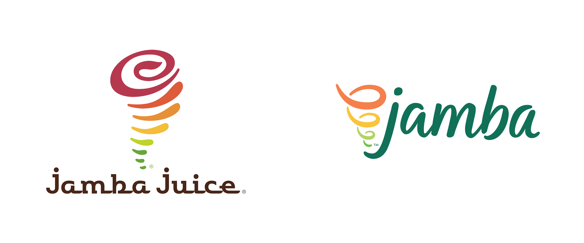 brand new new name and logo for jamba by sterling rice group brand new new name and logo for jamba