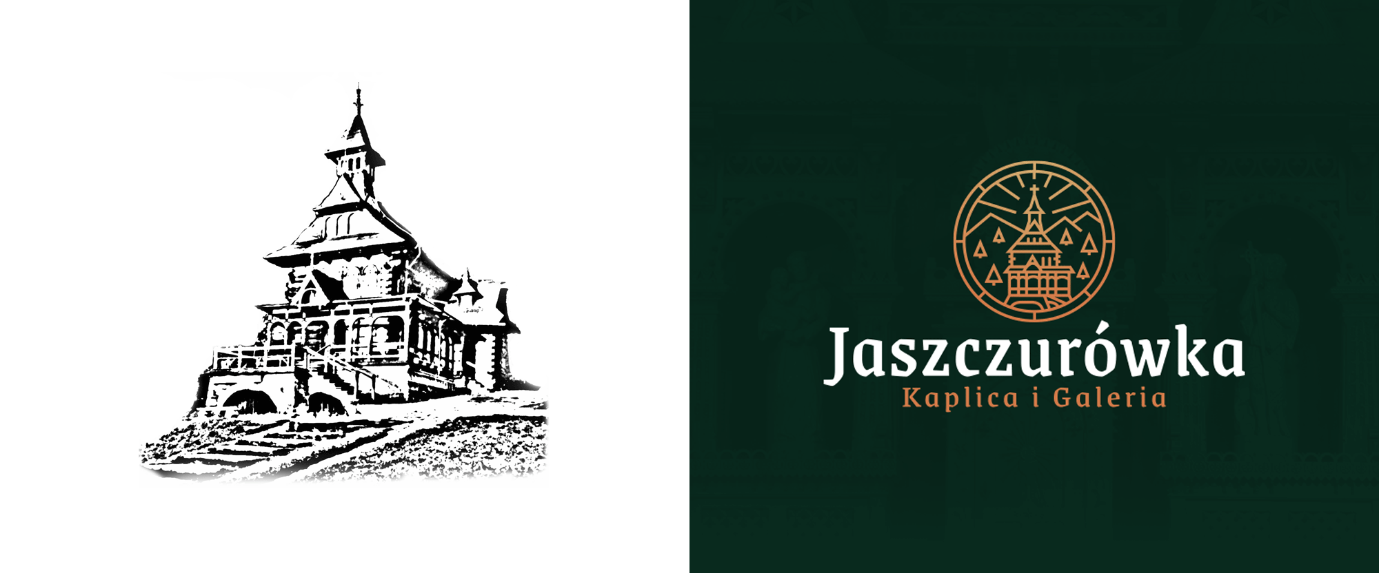 New Logo and Identity for Jaszurówka Chapel by Industi