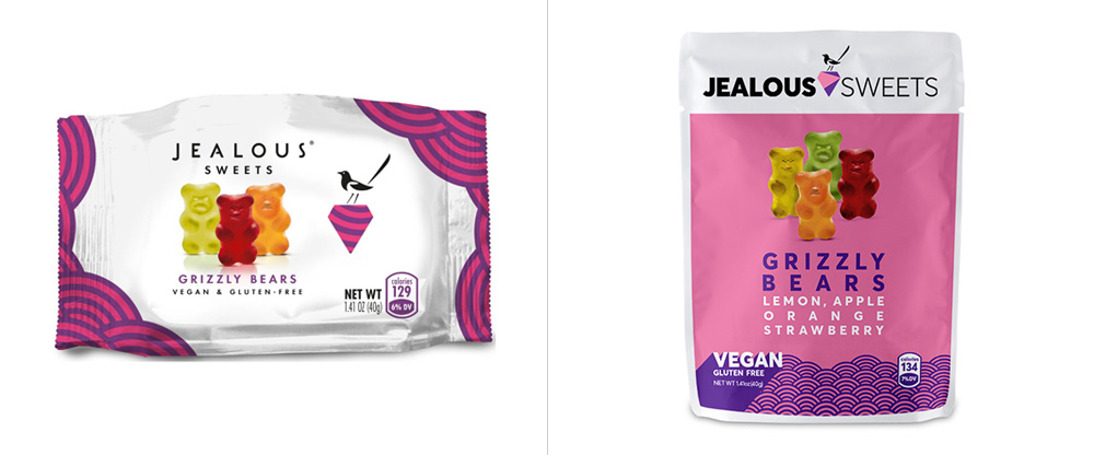 New Logo, Identity, and Packaging for Jealous Sweets by LoveGunn