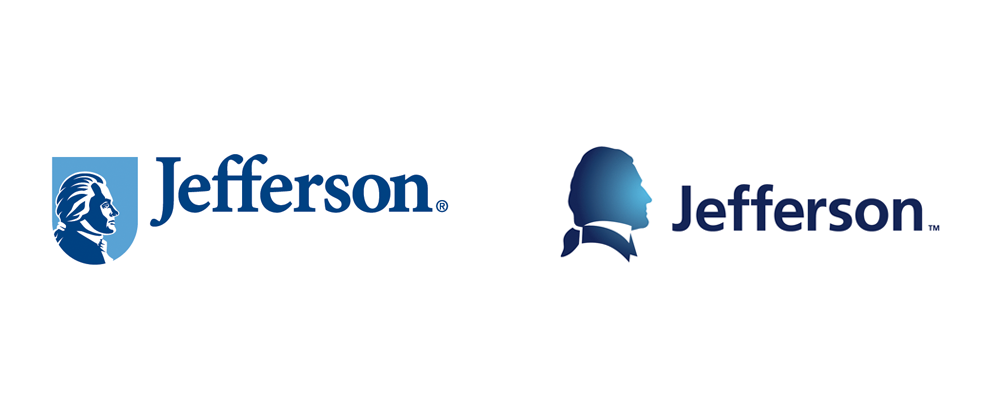 brand new new logo and identity for jefferson university