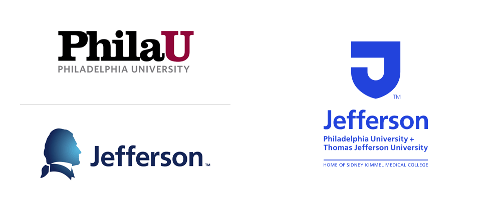 New Logo for Philadelphia University and Thomas Jefferson University