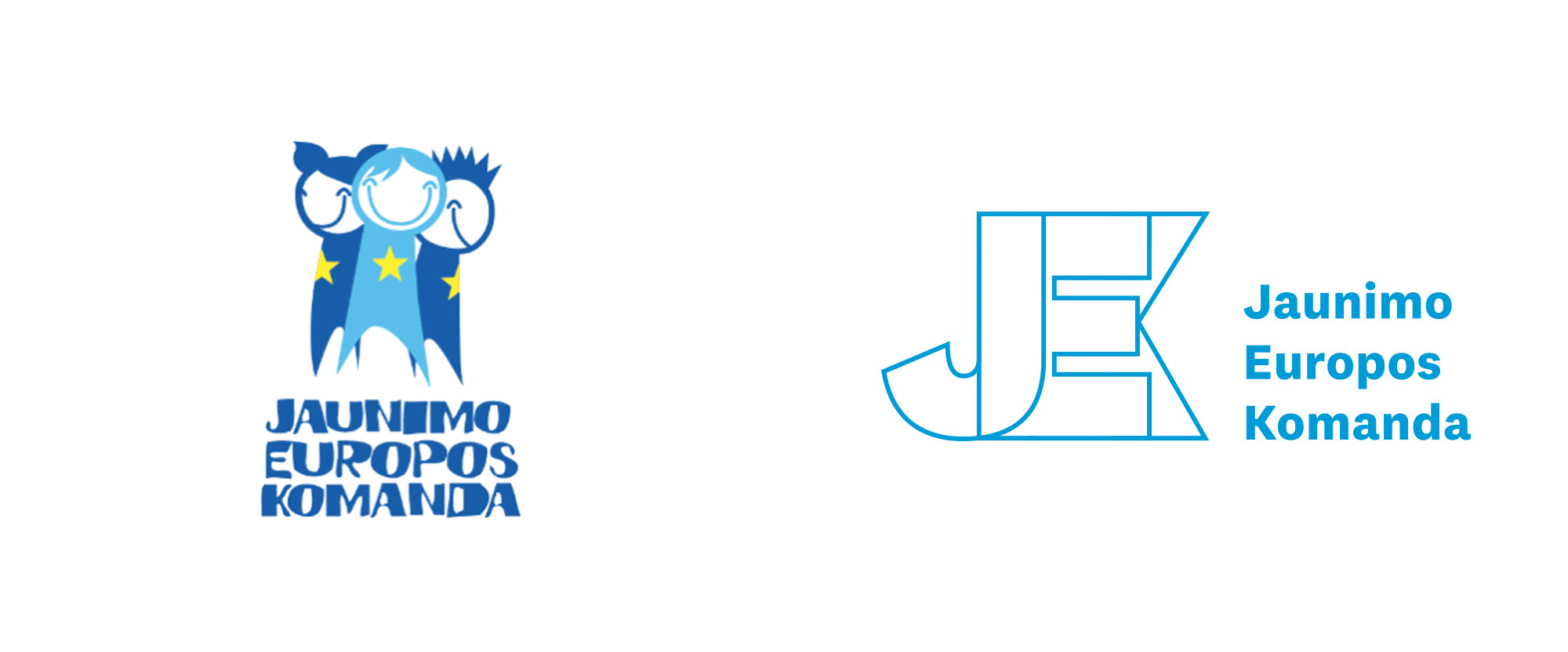 New Logo and Identity for Jaunimo Europos Komanda by Pretty Much Agency