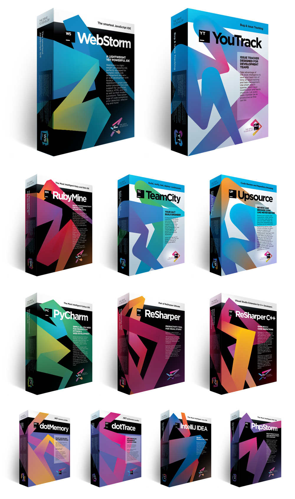 Brand New: New Logo(s) for Jetbrains