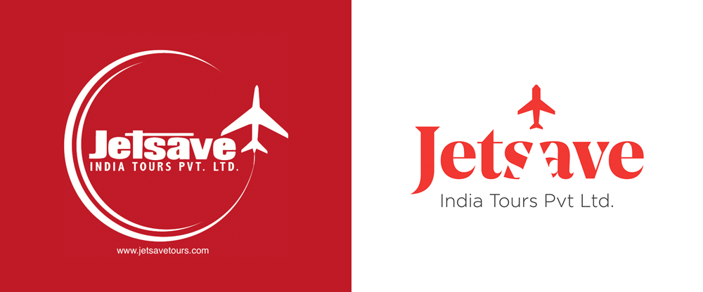 New Logo and Identity for Jetsave India Tours by Paolo Vendramini
