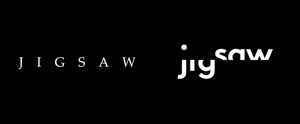 New Logo for Jigsaw Productions by Pentagram