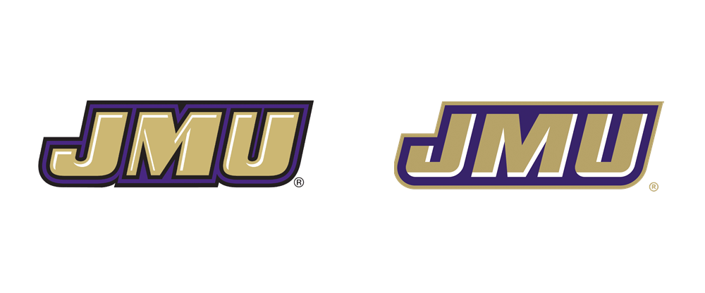New Logos for JMU Athletics by Joe Bosack & Co.
