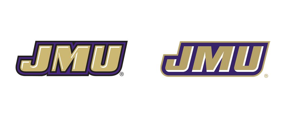 New Logos for JMU Athletics by Joe Bosack & Co.