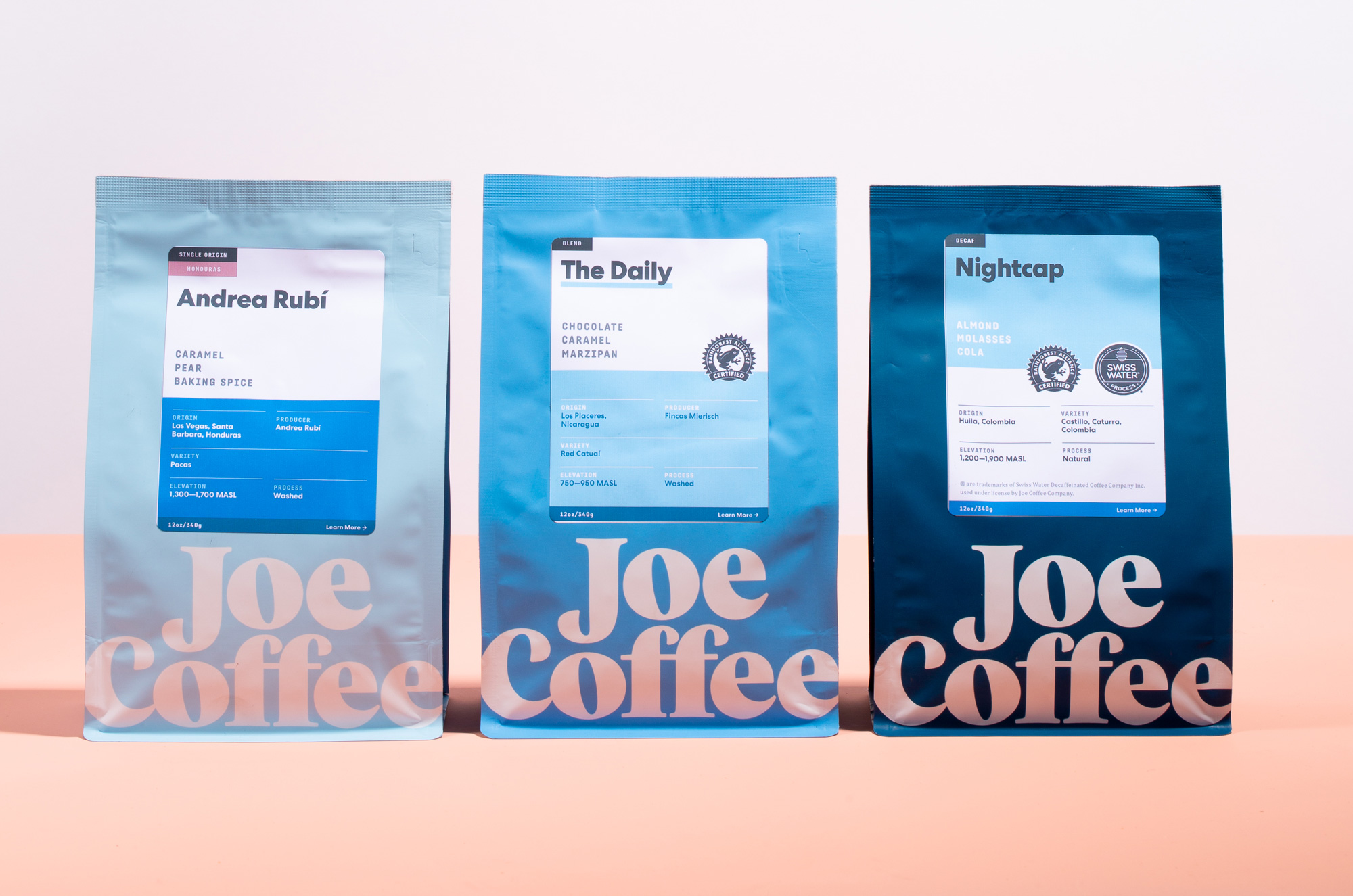 New Logo and Identity for Joe Coffee Company by Godfrey Dadich Partners