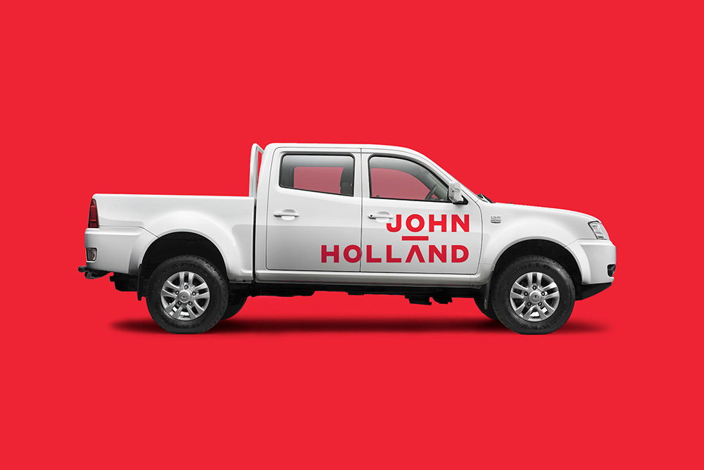 New Logo and Identity for John Holland by Frost* Design
