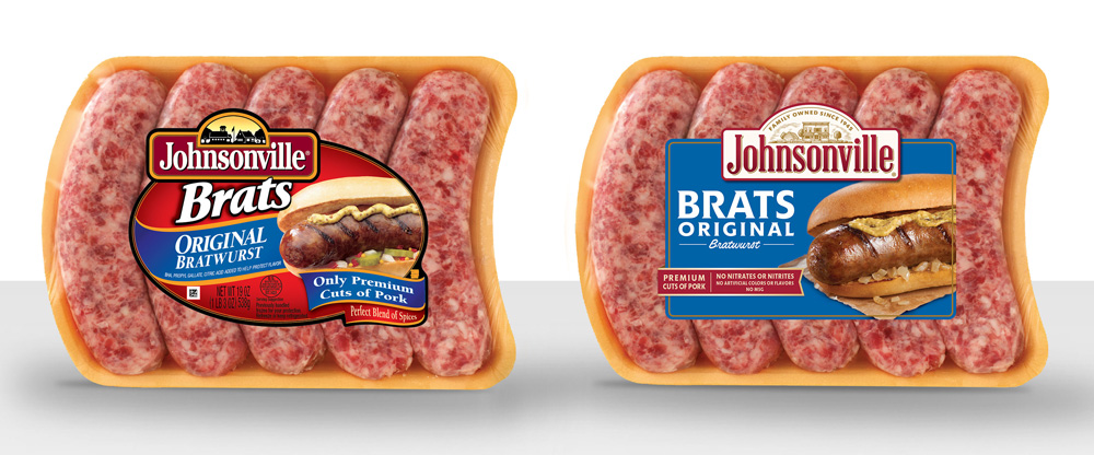 New Logo and Packaging for Johnsonville by DuPuis Group