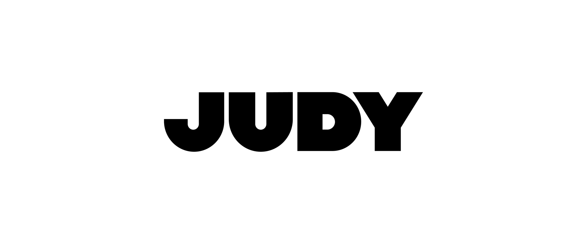 New Logo and Identity for Judy by Red Antler