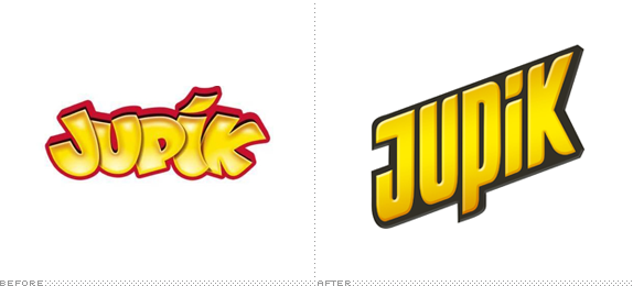 Jupik Logo, Before and After
