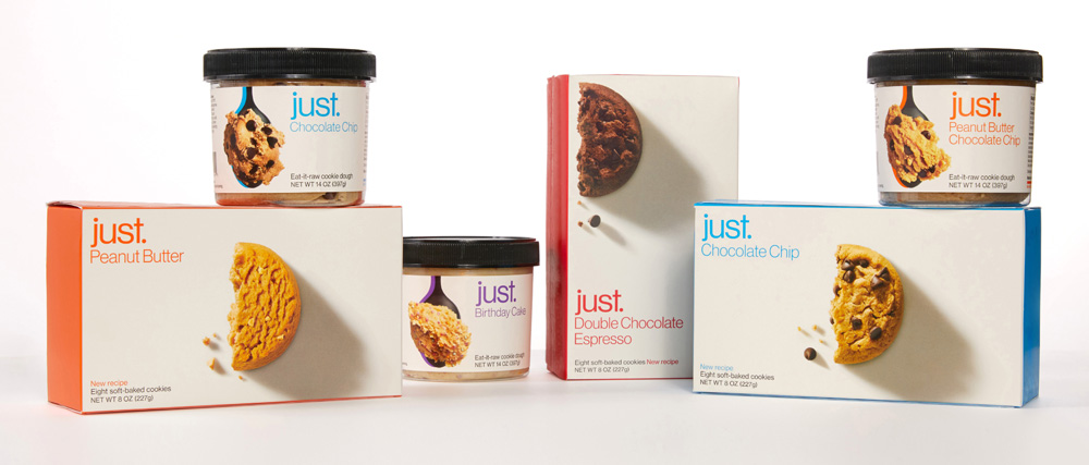 New Logo and Packaging for Just done In-house