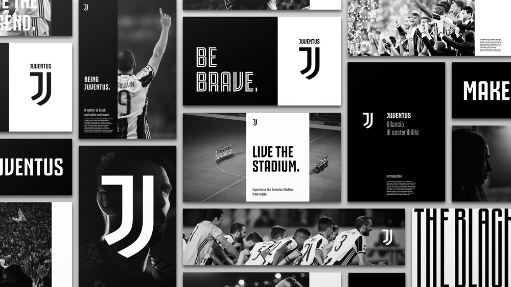 Brand New New Logo And Identity For Juventus By Interbrand