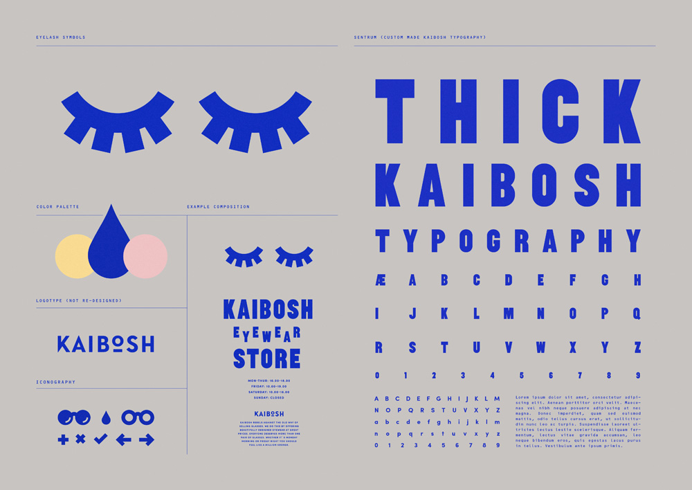 New Identity for Kaibosh by Snask