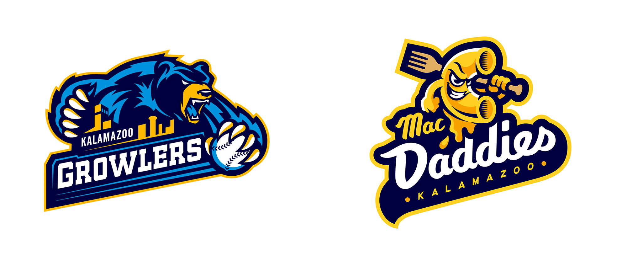 New Name and Logo for Kalamazoo Mac Daddies (for 3 Games Only)