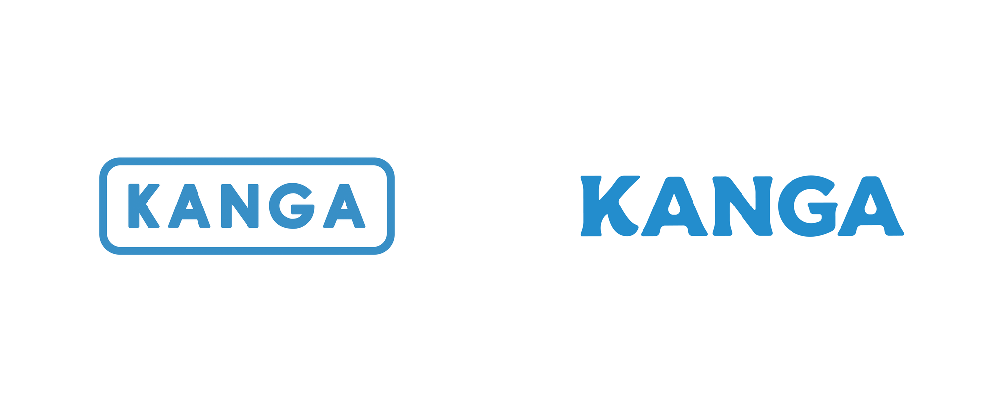 New Logo and Identity for Kanga by Chris Ganz Designs