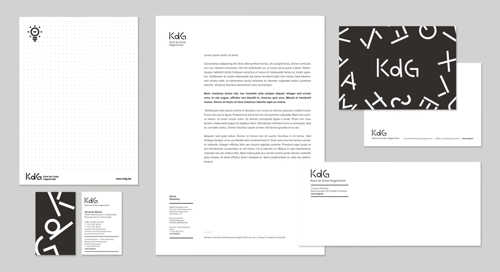 New Logo and Identity for Karel de Grote Hogeschool by Branding Today