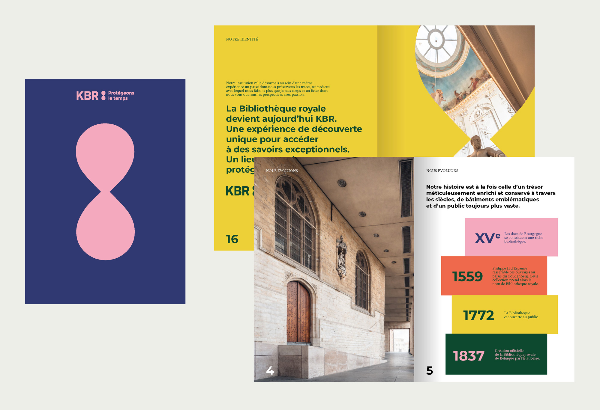 New Logo and Identity for KBR by Teamm, Dyncomm, and Oilinwater
